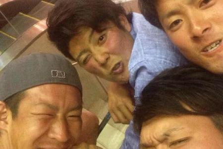 【小ネタ】巨人宮國&今村、サメに遭遇し全力で逃げるwwww alt=