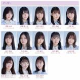 『27thシングルのアンダーメンバーが発表される! 4期生の合流は・・・!【乃木坂46】』の画像