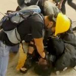 【動画】香港デモ、デモ隊に化けた警官がデモ参加者を逮捕!香港警察が変装を認める [海外]