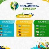 『#52「コパアメリカ2019組み合わせ決定!開催は6.7月!」』の画像