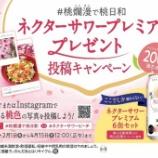 『「ネクターサワープレミアム」プレゼント SNS投稿キャンペーン開催!』の画像