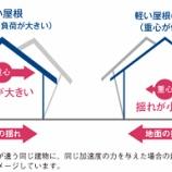 『災害に強い家づくり・マイホームのための豆知識_5「屋根(材)編」』の画像