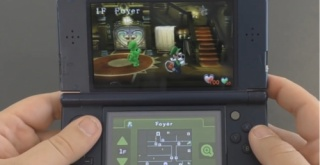 3DS版『ルイージマンション』の15分間の直撮りプレイ映像が公開!