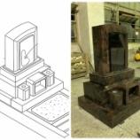 『オーロラ インドYKD 洋風デザイン墓石 洋墓』の画像