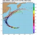 台風19号「ハギビス」発生 10日(木)頃には猛烈な台風にまで発達する見通し
