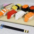 【完成版】3万円のお寿司が話題になっていたのでレゴでお寿司作ってみた。