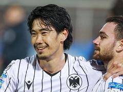 PAOK香川真司さん、デビュー戦で縦への突破ゼロ…