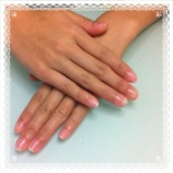 『ピンクのジェルネイル』の画像