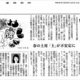 『春の土用「土」が不安定に|産経新聞連載「薬膳のススメ」(63)』の画像