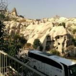 『トルコ旅行記16 カッパドキアで奇岩とギョレメ野外博物館を見る』の画像