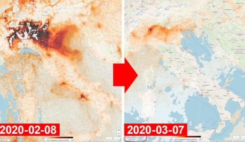 新型コロナ移動制限中のイタリアで大気汚染物質が激減(海外の反応)
