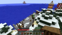 ピラミッド区の港に客船を作る (1)