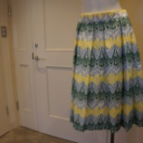 『Sinequanone(シネカノン)ジオメトリック刺繍スカート』の画像