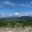 霧ヶ峰 夏の始まりを告げる青空と、八島ヶ原湿原の花畑