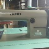 『JUKI製DDL-227(本縫いミシン)の中古をお買上げいただきました。中古のミシンなのにアフターフォローも3ヶ月付けちゃいます!』の画像