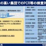 『【新型コロナ】埼玉県での新型コロナ検査における大きな方針転換発表!「感染リスクの高い集団でのPCR等の検査対象の拡大」が図られることになりました。』の画像