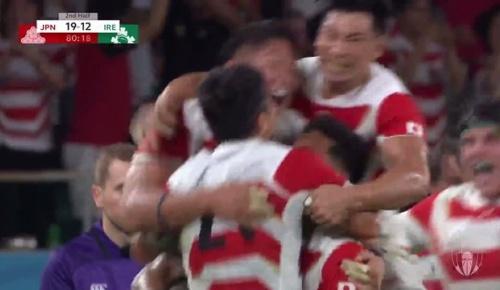 日本がアイルランドに19-12で勝利!(ラグビーW杯 海外の反応)