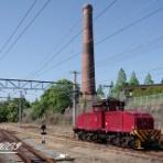 炭鉱電車が走った頃
