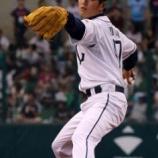 『【野球】工藤公康氏の長男・阿須加 父と同じ「47」で114キロ始球式』の画像