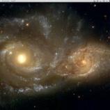 『ハッブル望遠鏡から撮影した宇宙をデスクトップ画像に』の画像
