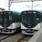 学校帰りに京阪電車!