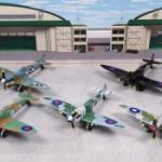 超リアル!英戦闘機「スピットファイア」がダイキャスト製フィギュアになってガチャに登場!