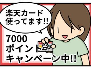 【PR】楽天カードのポイントキャンペーン!
