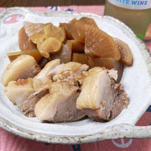 味が芯まで染み込む♪豚肩ロース肉と大根の柔らか煮