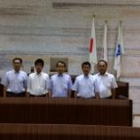 『予算決算常任委員会と通年議会について横須賀市議会を視察』の画像