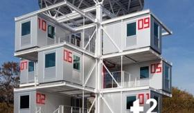 【家】  日本で作られた アルミ製プレハブ(290万円)を組み合わせた アパートがヤバイ。  すごく快適そうで住みたいんだが・・・・。   海外の反応