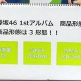 『【欅坂46】『1stアルバム』収録曲のラインナップ予想がこちら・・・』の画像