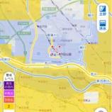 『10月25日16時40分時点。 日中増水した笹目川、緑川、上戸田川、菖蒲川、いずれの河川も水位が安定しました。戸田市にはまだ洪水警報がでています。油断なさらないで下さい。』の画像
