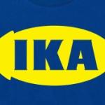 「IKEA イケア」のTシャツかと思ったら、「IKA イカ」のTシャツだった!