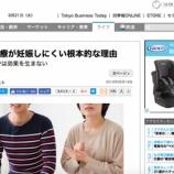 『【記事】日本の不妊治療が妊娠しにくい根本的な理由(東洋経済ONLINE)』の画像