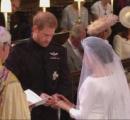 ハリー王子とメーガンさん 結婚指輪を交わし夫婦を宣言 デビッド・ベッカムさんなど600人が参列