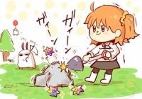 【FGO】聖晶石が出る岩を見つけたぐだ子さん!! この岩ほしい!!