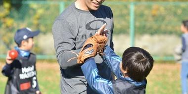 【画像】<斎藤佑樹が明かした野球の競技人口減少対策>「野球を中心に日本のスポーツが盛り上がっていけたらと思います」