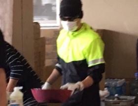 【画像】スマップ中居が熊本で炊き出し
