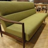 『【北欧テイスト・日進木工のテーブルとチェア2011】 Natural Basicシリーズのソファ3人掛けBSC-533』の画像