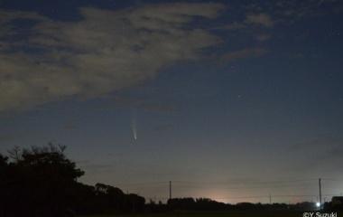『ネオワイズ彗星が今度は夕方の空で見やすくなる件 2020/07/14』の画像