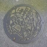 『千葉県木更津市のマンホールはタヌキのマンホール』の画像