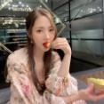 【画像3枚】女優『パク・ミニョン』春らしい美貌を披露!
