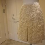 『DUALVIEW(デュアルヴュー)ループ刺繍スカート』の画像