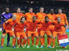 日本代表と対戦するオランダ代表メンバー発表