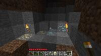 発掘で大空洞発見とネザー侵攻