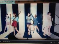 ℃-uteの新曲MVに謎の文字列