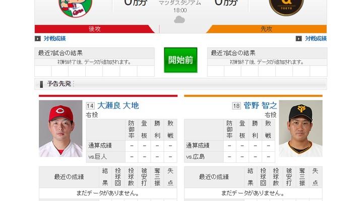【 巨人実況!】2019開幕戦! vs 広島!先発は菅野!捕手は小林!18:00~