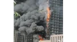 【動画】エアコンが爆発、設置していたマンション全体が炎上…中国
