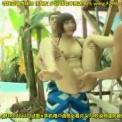 プールでロリ系水着美少女が・・・「広瀬うみ」プールの中で3P手コキする美少女を連れて物陰に入り股を開いて手マン潮吹き!パイパン 美女にフェラさせて・・・