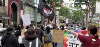 【Antifa】渋谷と米国各地で起きている反警察デモの煽動者が一致してしまう